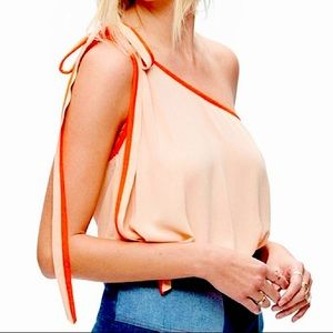 Free People 'You're the One' Top in Peach